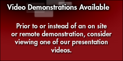 Video Demonstrations Available
