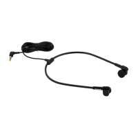 Olympus E62 stereo headset