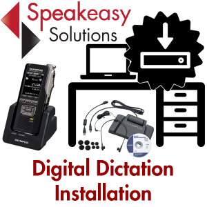 Digital dictation and installation and configuration