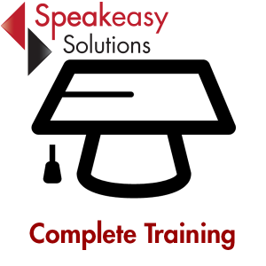 Complete Dragon speech recognition training