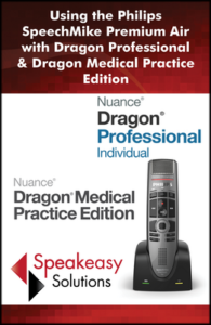 Using Philips SpeechMike Premium Air with Dragon