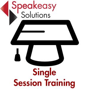 Single Dragon speech recognition training session