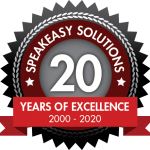 Speakeasy Solutions 20 years