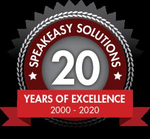 Speakeasy Solutions 20 years