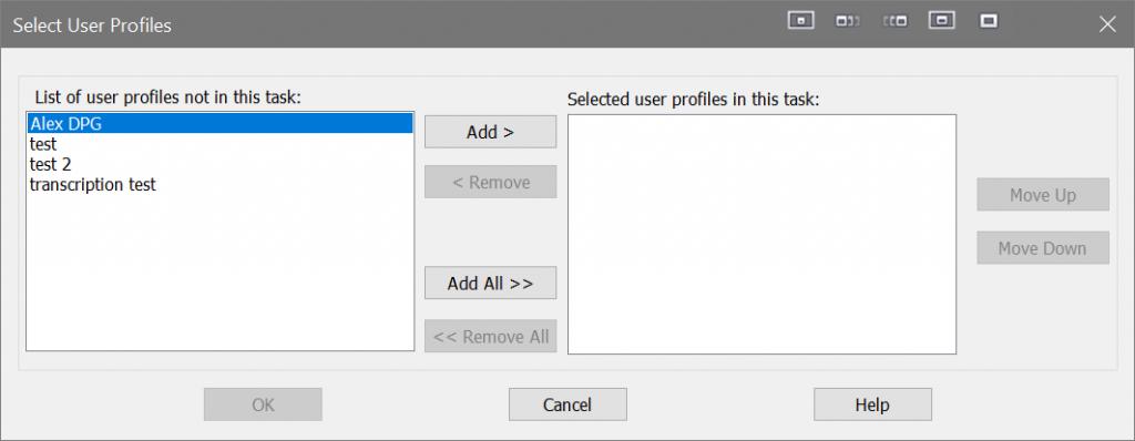 Dragon optimizer scheduler select multiple profiles