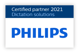 Philips Dictation Certified Partner 2021